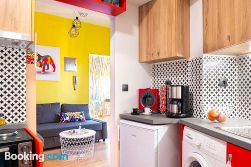 Apartamento de una habitación en Heraklion con vistas