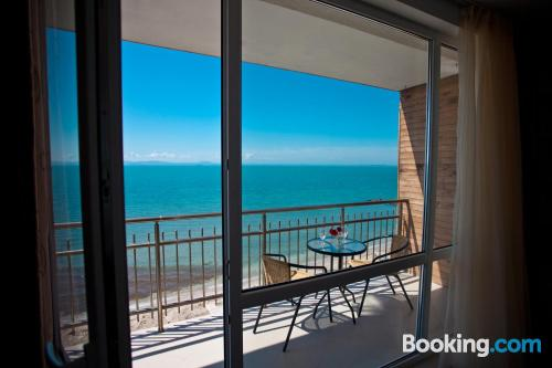 Amazing location with pool in Pomorie and terrace