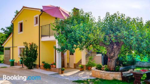 Bonito apartamento de dos dormitorios en Vižinada.