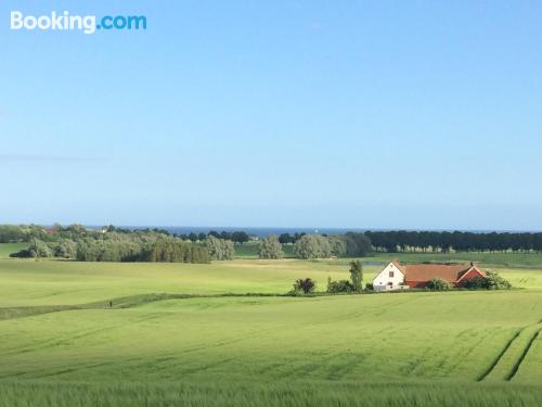 Place for couples in Ystad with heating and internet