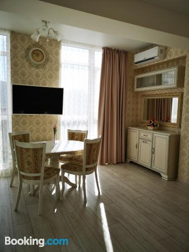 1 bedroom apartment in Kudepsta with air-con