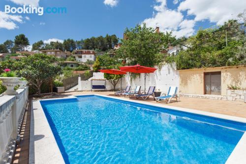 Apartment in Corbera De Llobregat. Ideal for six or more
