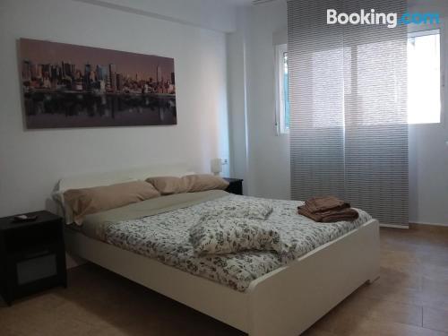 Apartamento de 40m2 en Valencia con calefacción y wifi