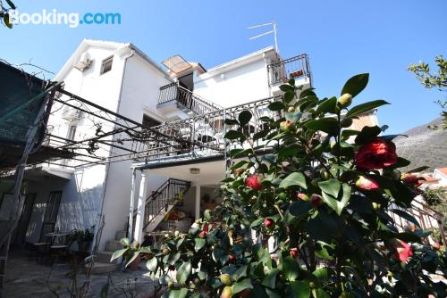 1 bedroom apartment place in Bijela. For 2.