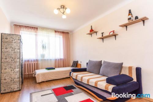 Apartamento bonito de dos habitaciones. ¡Wifi!