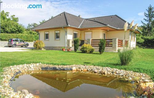2 room home in Vonyarcvashegy in central location. Dream!