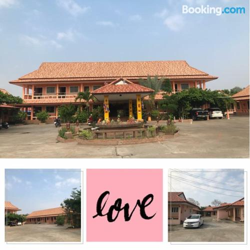 Place for solo travelers in Surin with terrace.