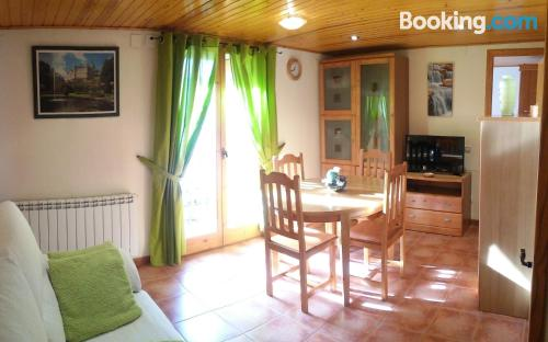 Comfortable apartment with three rooms in central location of Vilaller