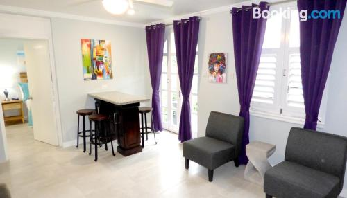 Perfect 1 bedroom apartment with terrace and internet