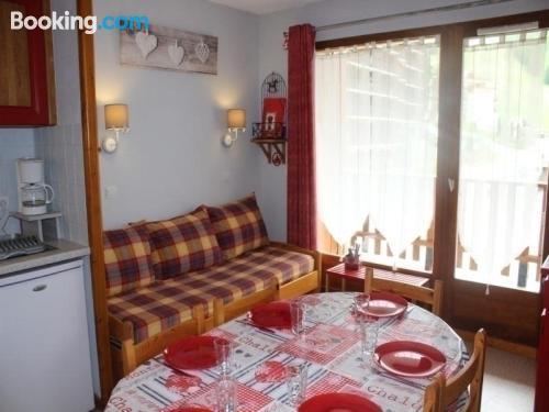 Pet friendly apartment in La Joue du Loup. 32m2!