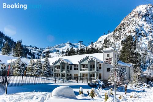 Apartment with wifi in best location of Olympic Valley