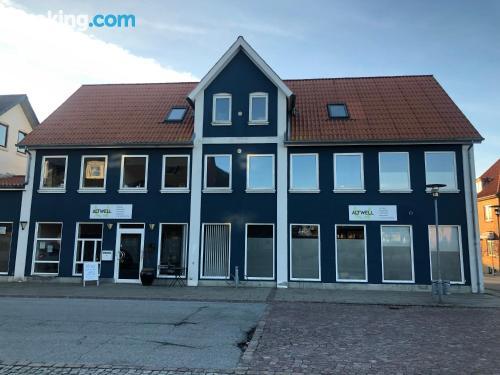 Apartamento bonito parejas en Bindslev