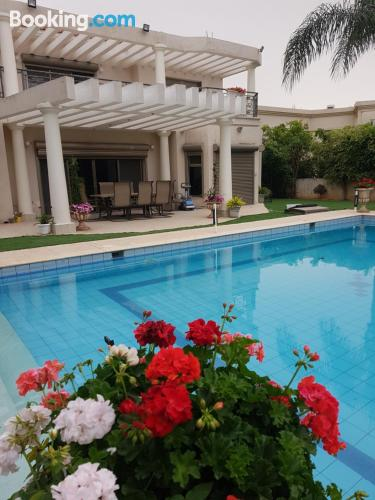 Stay in Caesarea with pool