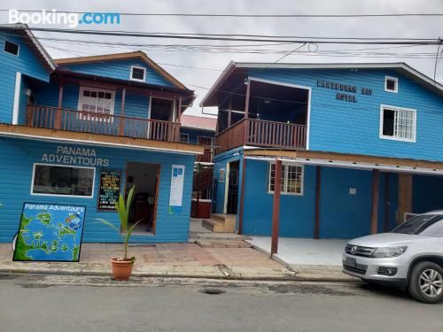 Bocas Town from your window! With air-con