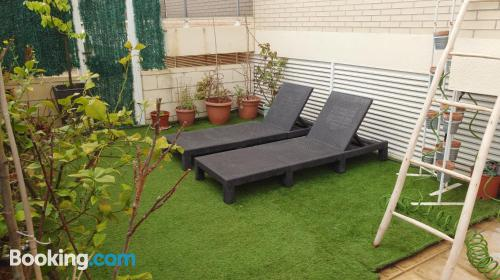 Sleep in perfect location with terrace