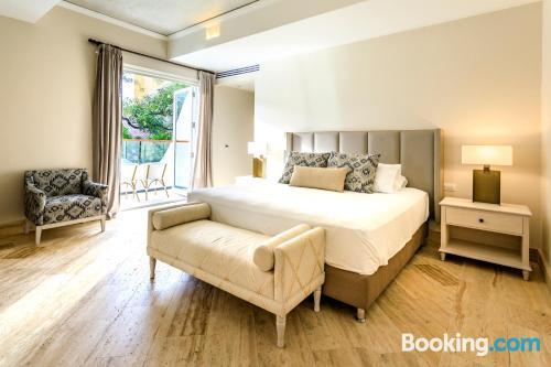 Apartamento con terraza en Cartagena de Indias.