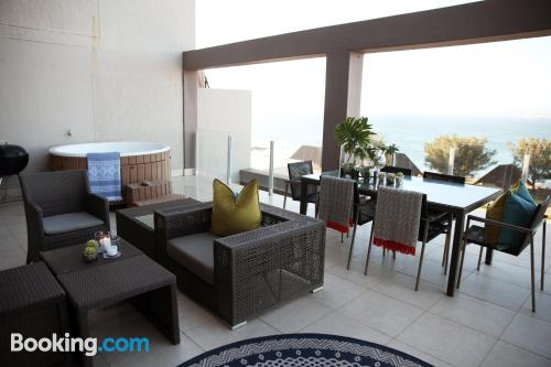 Apartamento con aire acondicionado en Mossel Bay.