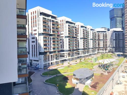 Three bedroom apartment. Great for six or more