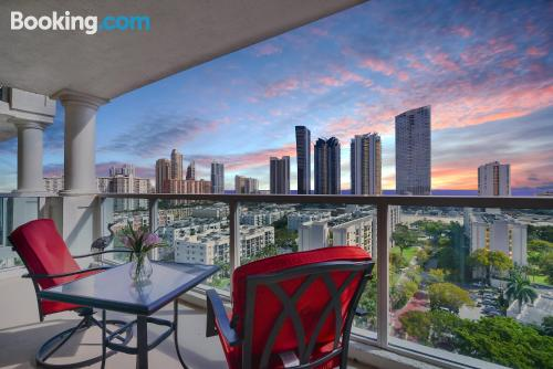 Place in Sunny Isles Beach. Comfortable and perfect location.