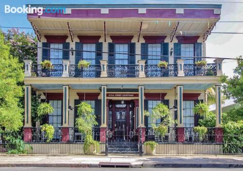 Place in New Orleans with terrace