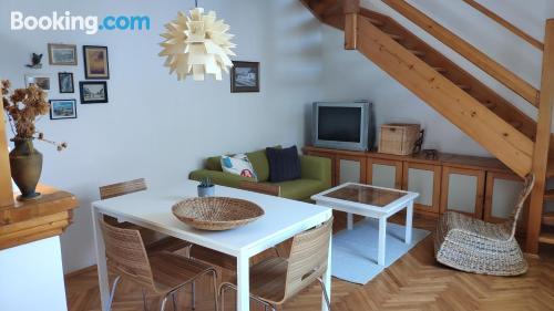 Apartamento con internet y vistas