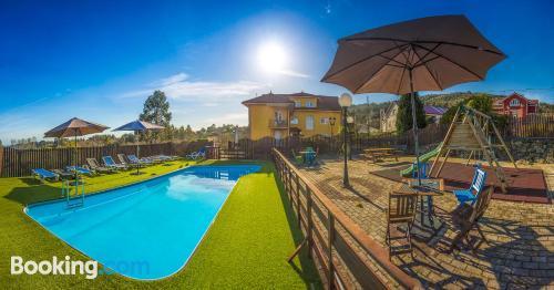 Apartamento con piscina en Cudillero