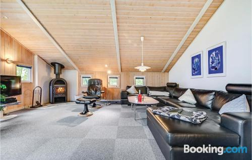 Home for six or more in Blåvand. 114m2!