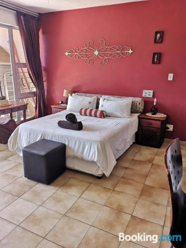 Place for two in Umdloti with swimming pool.