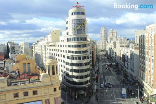 Apartamento con conexión a internet en Madrid