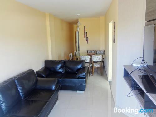 Apartamento de 60m2 en Guarapari. ¡Wifi!