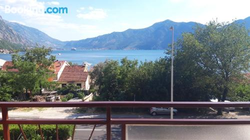 1 bedroom apartment apartment in Kotor with internet and terrace.