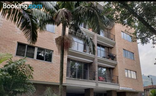 Apartment in Envigado. Internet!.