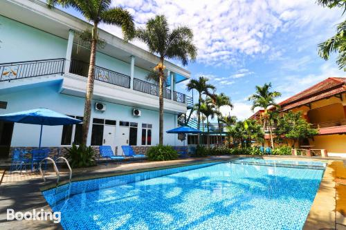 Apartment with swimming pool good choice for groups!