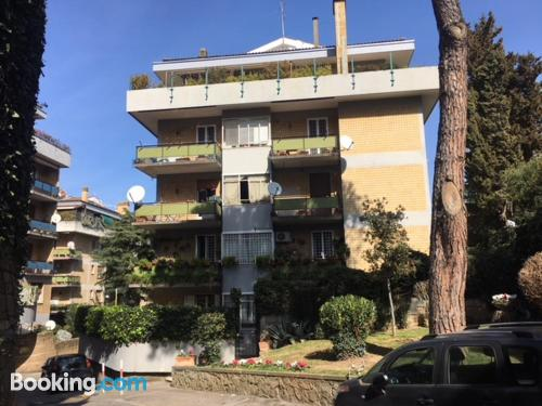 Baby friendly home in Rome with terrace