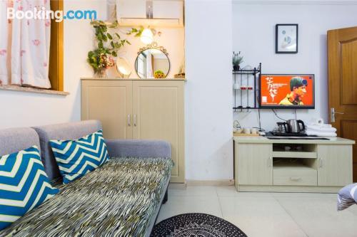 50m2 de apartamento con calefacción y conexión a internet