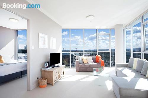Apartamento en Sidney con conexión a internet.