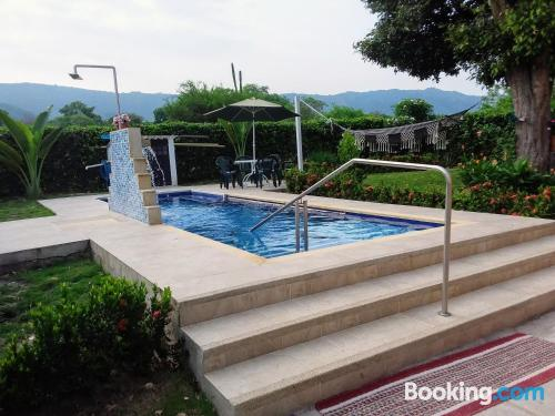 Terrace and wifi place in Ricaurte with one bedroom apartment.
