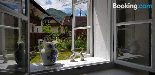 Two bedrooms apartment in Mojstrana.