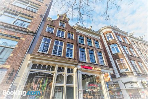 Downtown in Amsterdam. For two