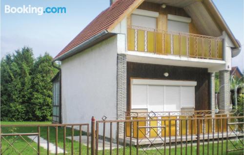Apartamento en buena zona en Balatonmáriafürdő.