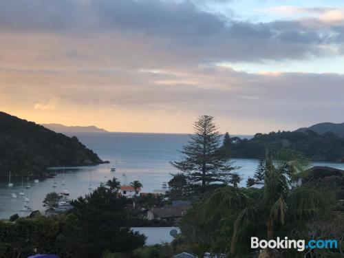 One bedroom apartment apartment in Mangonui with terrace and wifi.