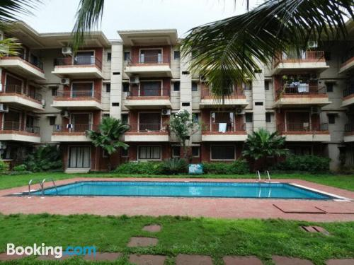 Apartamento de 102m2 en Calangute ideal para cinco o más