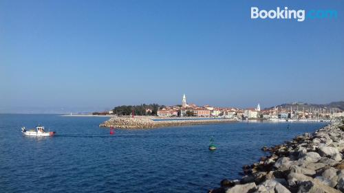 Experience in Izola. Be cool, there\s air-con!
