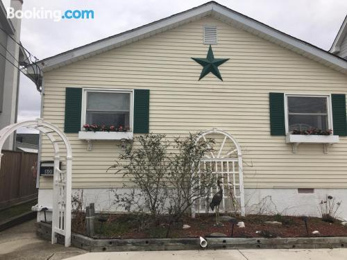 Home in Brigantine great for six or more.