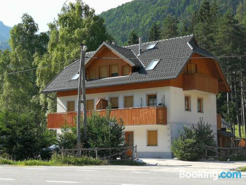 Apartamento de 45m2 en Kranjska Gora con internet y terraza