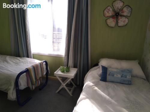 One bedroom apartment home in Invercargill for 2 people.