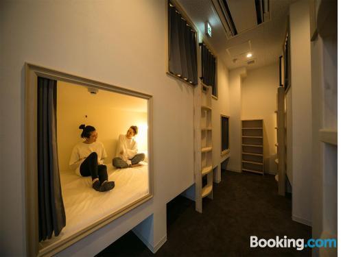 Pequeño apartamento dos personas en Tokio.