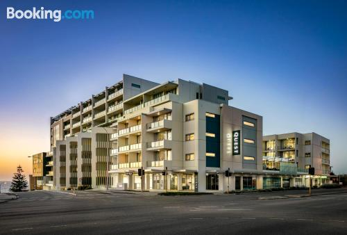 One bedroom apartment in Perth with terrace