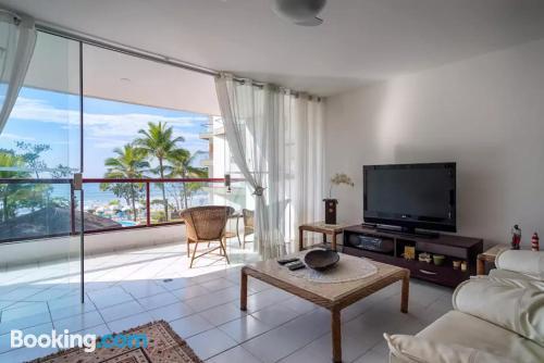 Amplio apartamento de dos habitaciones con terraza