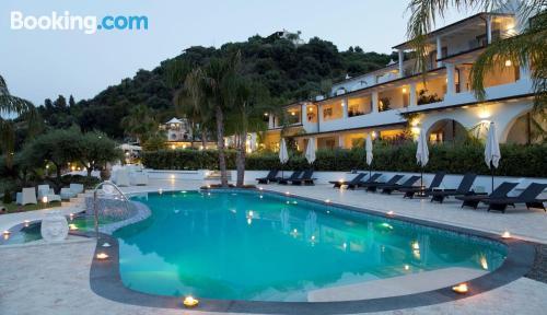 Apartamento para parejas en Lipari con terraza y wifi